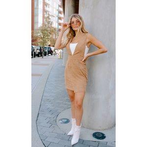 Kittenish Jenny Lynn Corduroy Overall Dress XXL